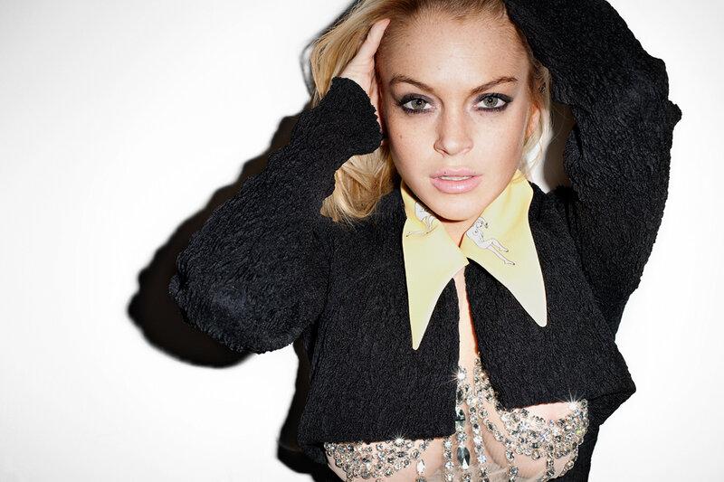 Линдси Лохан (Lindsay Lohan) весна-лето 2010
