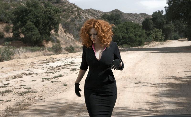 Кристина Хендрикс (Christina Hendricks) сентябрь 2009