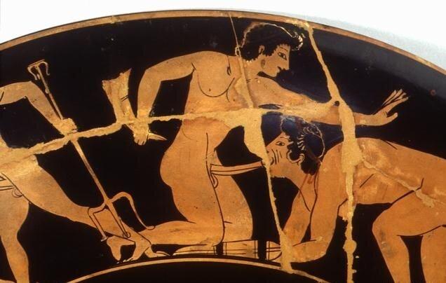 Древние греки гей секс