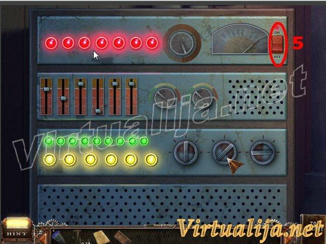 """Нажмите на усилитель для мини-игры. * Нажмите кнопку  """"ON """" (5). * Все выключатели и слайды должны быть повёрнуты и..."""
