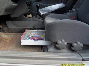 Ящик под сиденье своими руками