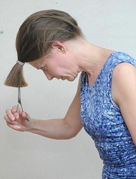 Как можно подстричь волосы средней длины - 75c