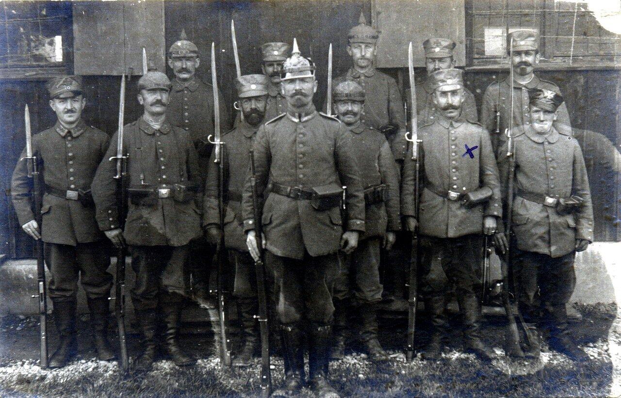 Bavarian Landsturm (superb bayonet collection) / b. Landwehr-Infanterie-Regiment Nr. 13