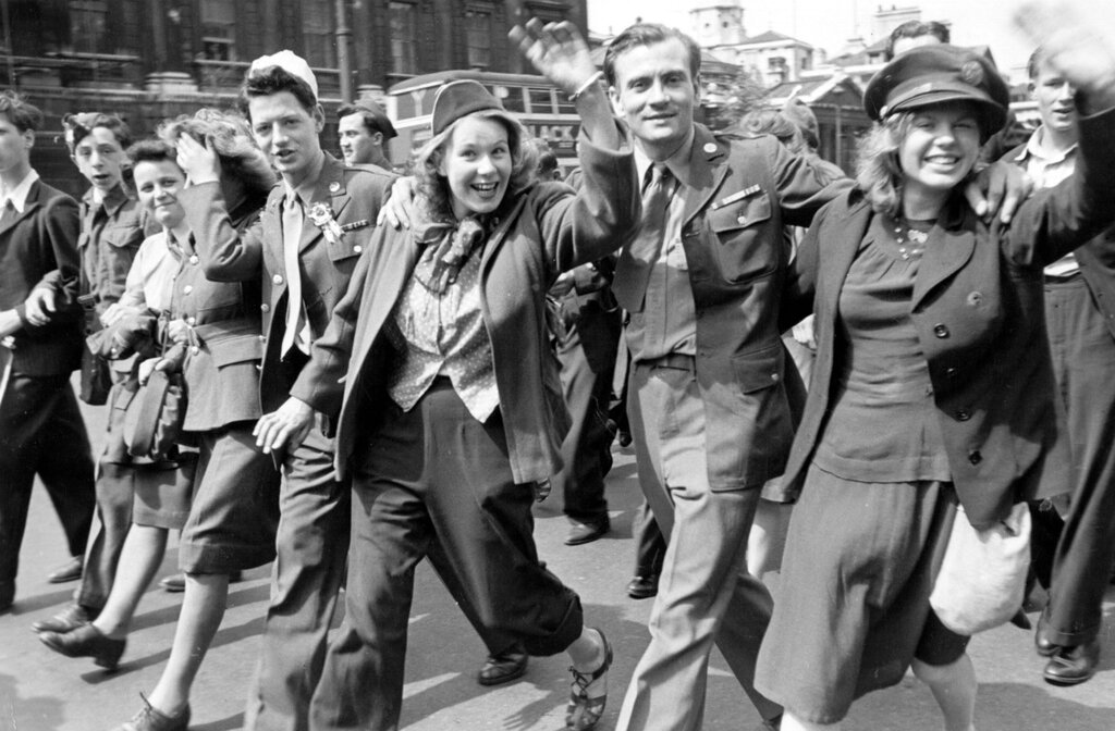 VE Day Parade