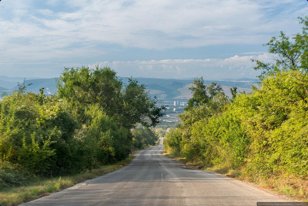Крым. Дорога на Бахчисарай