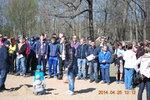 Первый спортивный субботник в Румболовском парке