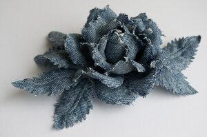Цветы из джинсовой ткани 0_7b04a_f5922b94_M