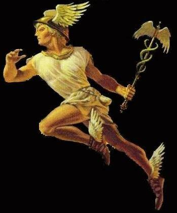 """Оригинал схемы вышивки  """"Бог Гермес """".  Бог Гермес, боги древней греции."""
