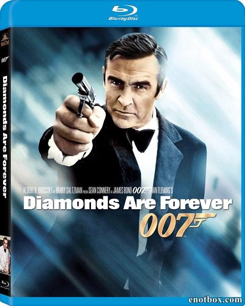 Джеймс Бонд 007: Бриллианты навсегда / James Bond 007: Diamonds Are Forever (1971/BDRip/HDRip)