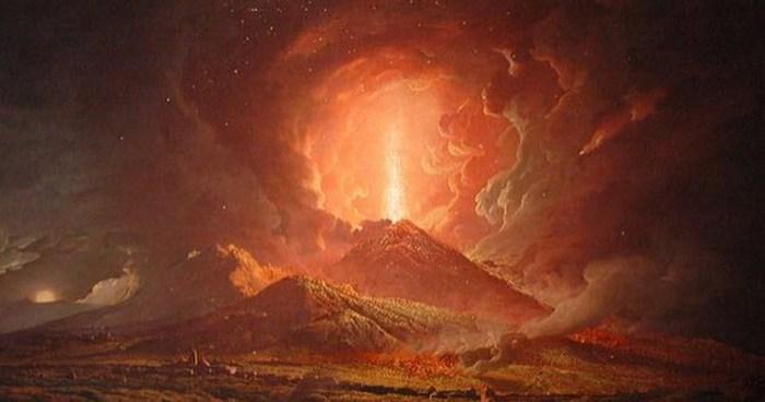 Сила извержения Точно измерить силу этого извержения невозможно, но некоторые современные уч
