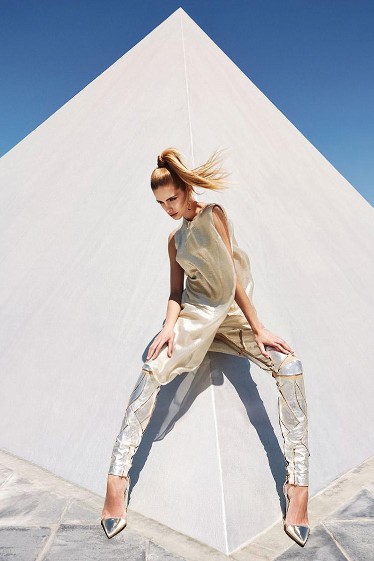 Анна Мария в журнале Harper's Bazaar Poland