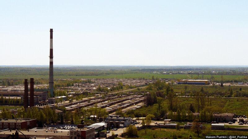 Панорама Пскова