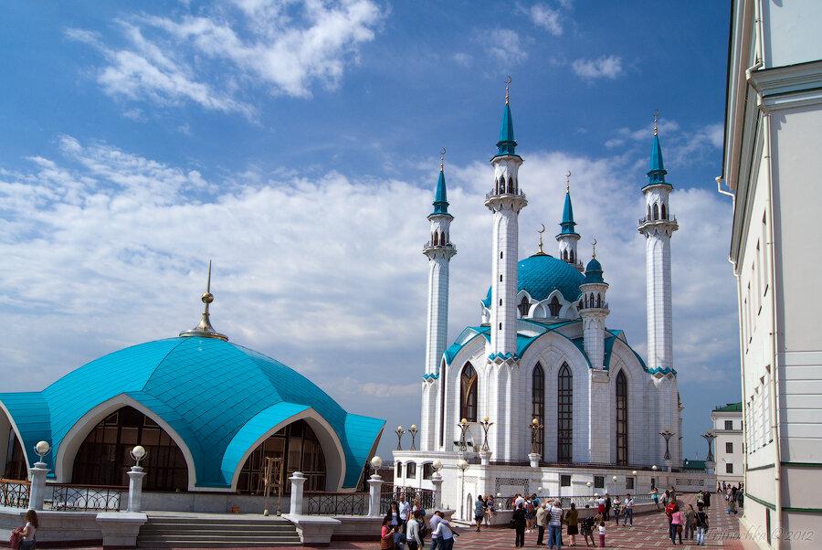 Моя поездка в Казань. Кул-Шариф