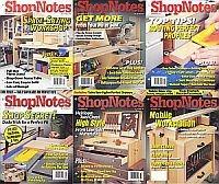Журнал ShopNotes. Архив 2010. (№№109-114)