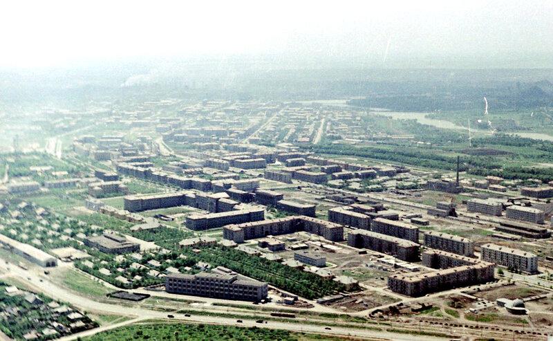 38. Донецк. Аэрофотосъемка начала 1960-х
