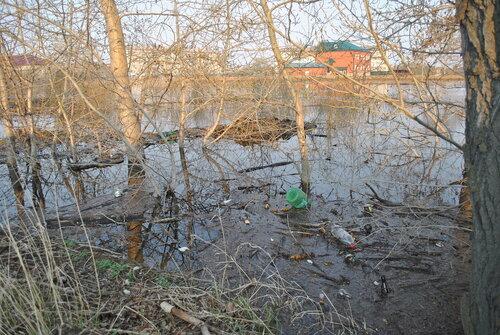 Затопило дом в Куйбышеве
