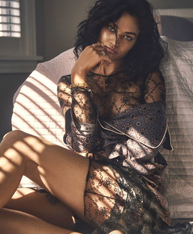 Shanina Shaik Dazzles for InStyle Australia November 2016 Cover Story