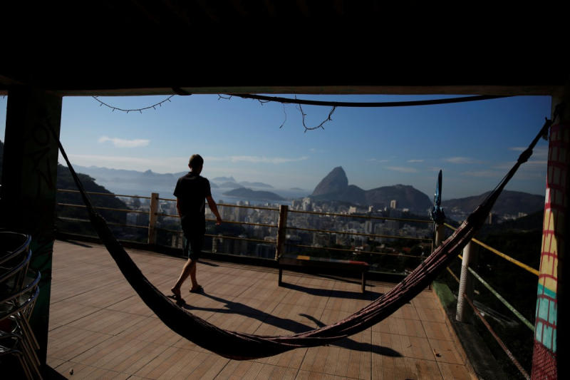 TripAdvisor reviewers have said that the Tiki hostel in the Cantagalo favela is