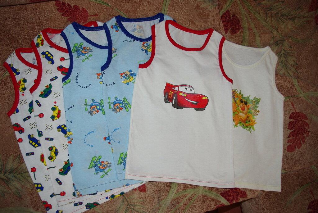 Детская футболка из хлопка своими руками