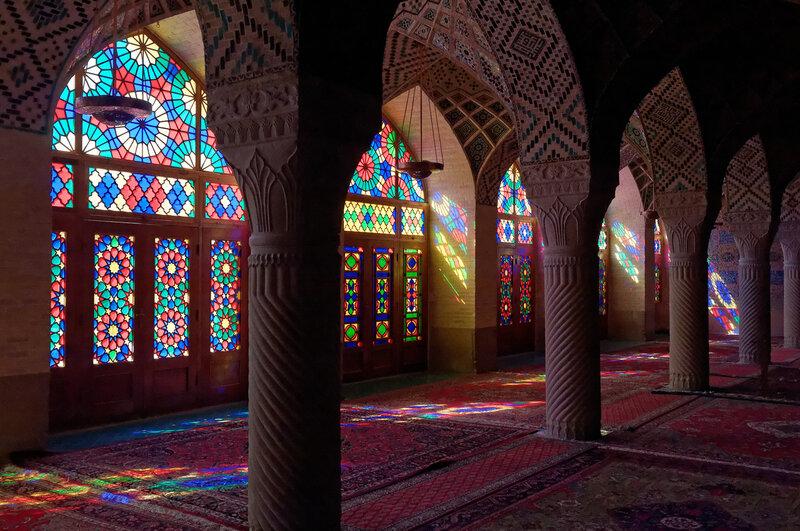 Шираз. Мечеть Насир аль-Мульк.