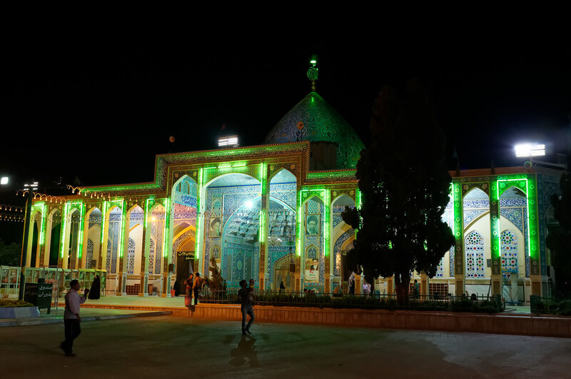 Йезд. Мечеть.