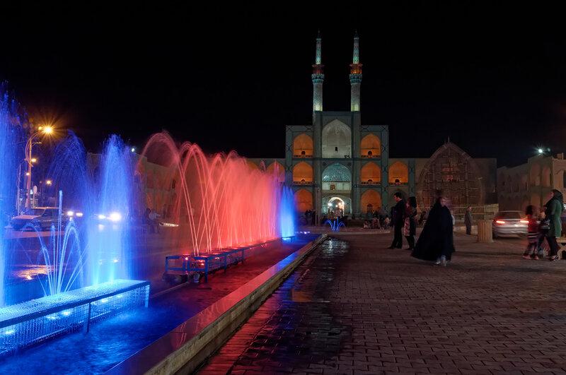 Йезд. Мечеть Амир Чакмагх.