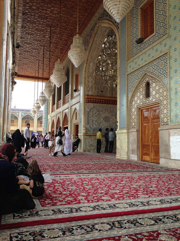 Шираз. Мечеть.