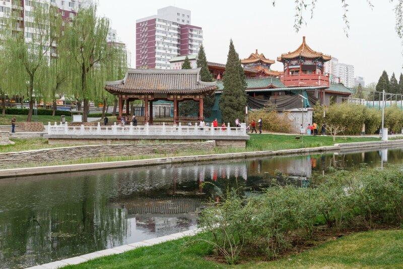 Ресторан в старинном стиле, Пекин