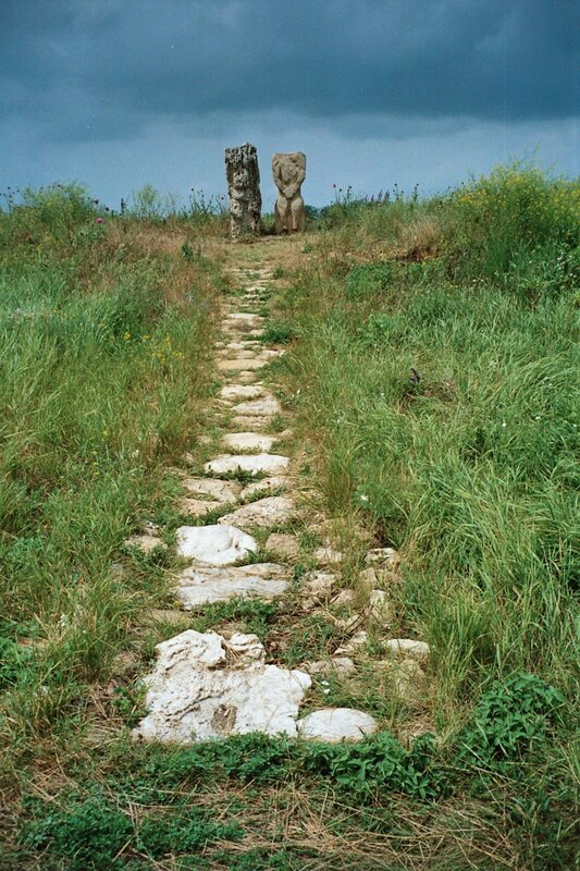 Танаис. Каменные бабы