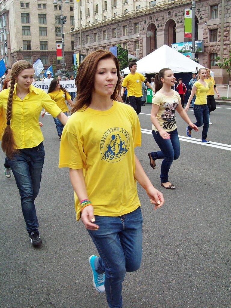 Танцевальная группа Европейского парада