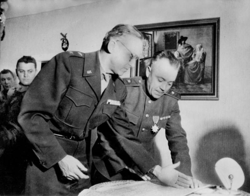 25 апреля 1945 года состоялась встреча на Эльбе