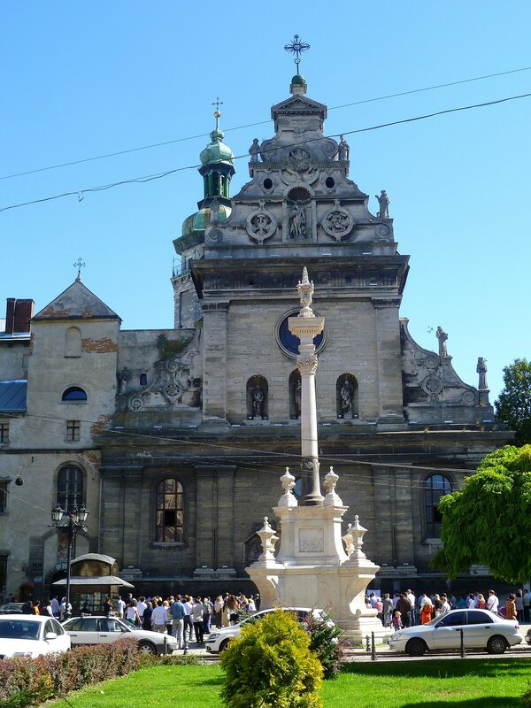 Львов, церковь Святого Андрея (Lviv, Church of St. Andrew)