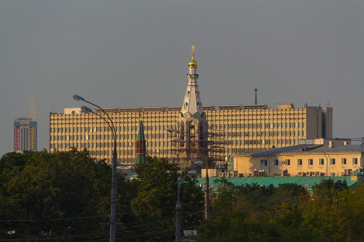 Новое здание Администрации Президента РФ