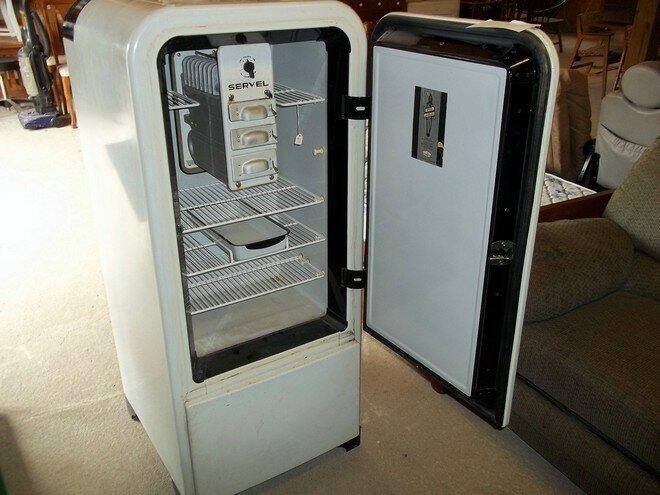 Холодильники Electrolux Servel