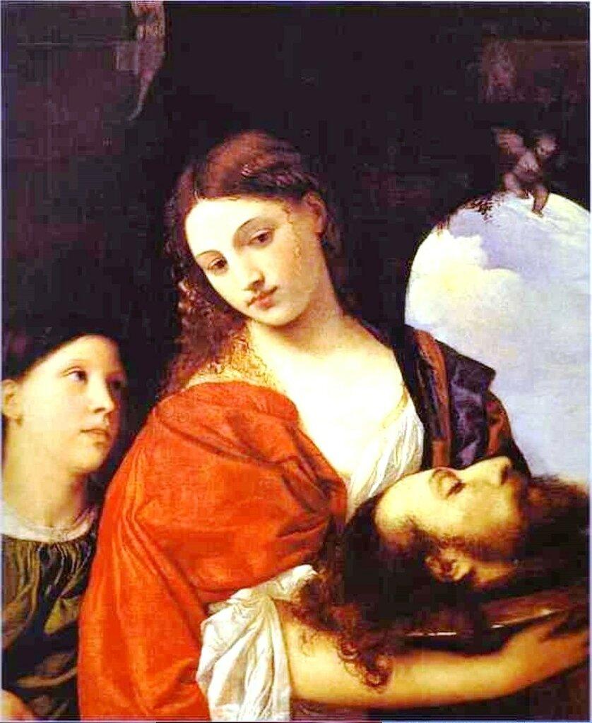 Саломея с головой Иоанна Крестителя. Тициан (1515) Галерея Дориа-Памфили, Рим Titian salome.jpg