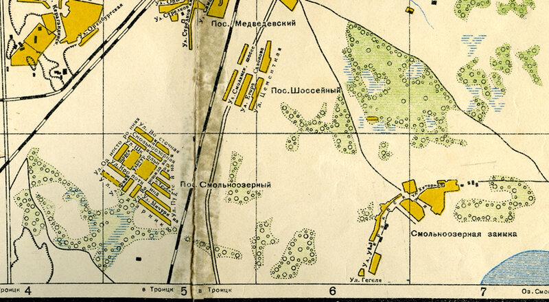 плана города за 1939 год.