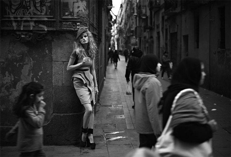 Edita Vilkeviciute / Эдита Вилькевичюте, фотограф Nathaniel Goldberg в журнале V Magazine Spain number 16