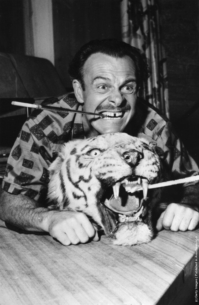 English actor-comedian Terry Thomas