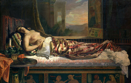 The Death of Cleopatra by German von Bohn.