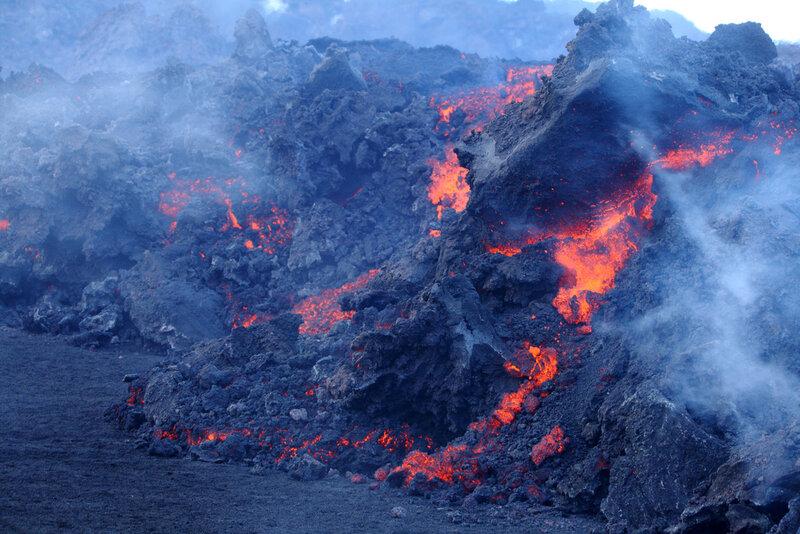 Где на карте находится вулкан килауэа