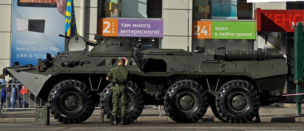 2. БТР-80 / APC BTR-80. © 2012. Андрей Крюченко / Andrey Kryuchenko