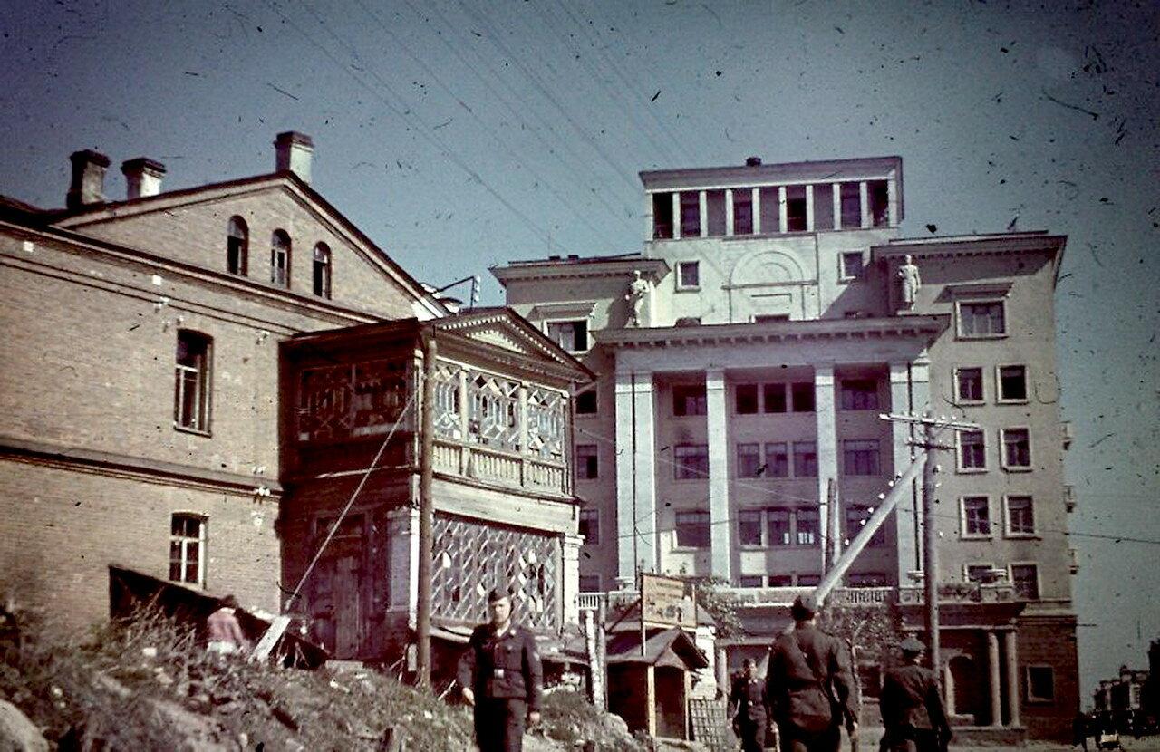 1941. Гостиница Смоленск
