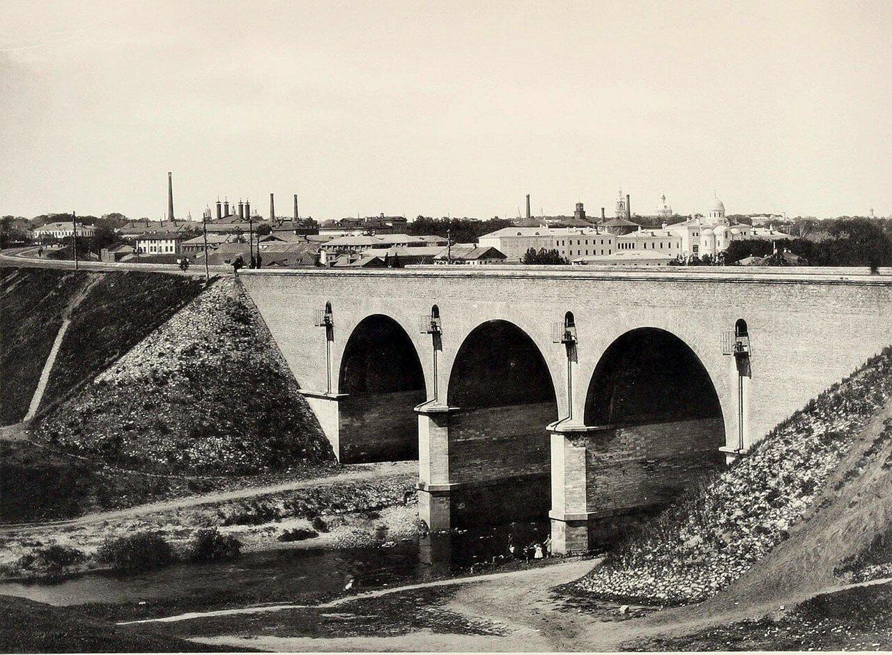 312. Железнодорожный мост через Яузу около Андроникова монастыря