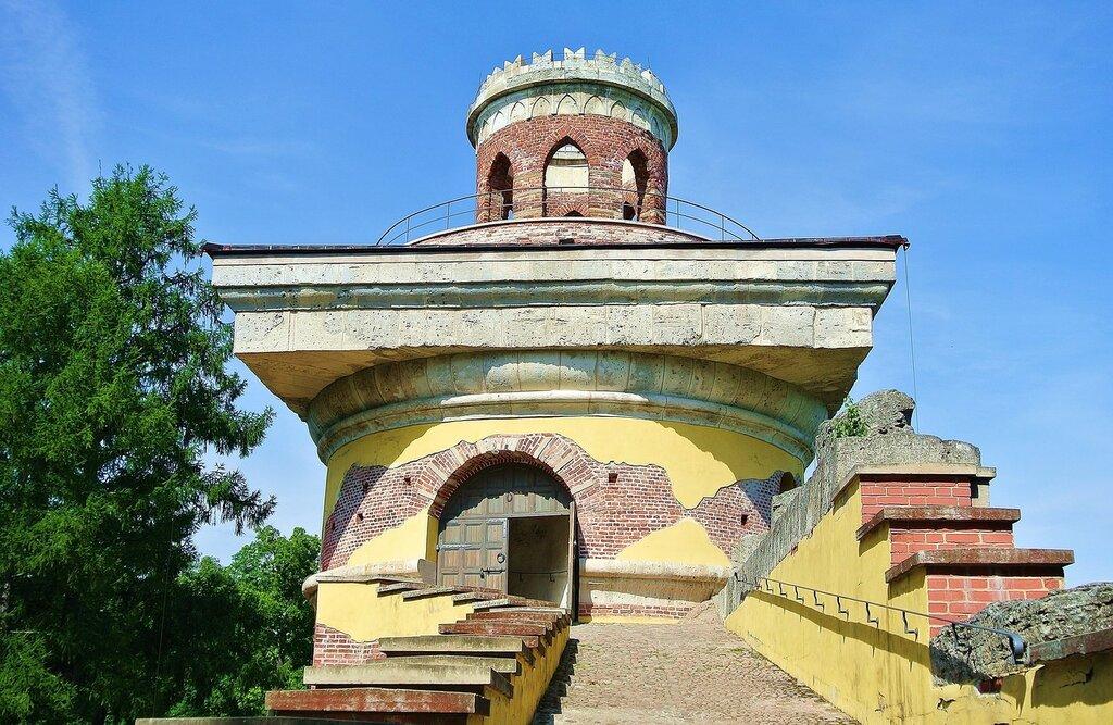 Башня-руина (верхняя часть)