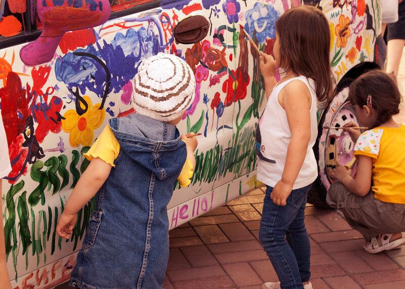 Краски и детки