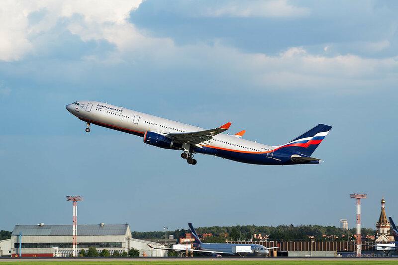 Airbus A330-343 (VP-BMY) Аэрофлот D809371