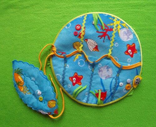 Развивающие игрушки своими руками... купить развивающий коврик ~ Подводный мир