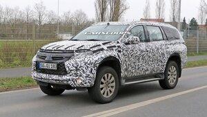 Новый Mitsubishi Pajero Sport появится летом 2015 года