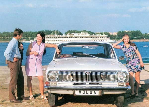 Шедевры рекламной фотографии. Отечественные автомобили