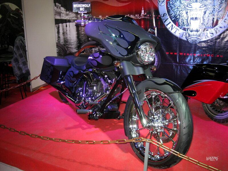 Мотоцикл мотоклуба «Werewolf MC».